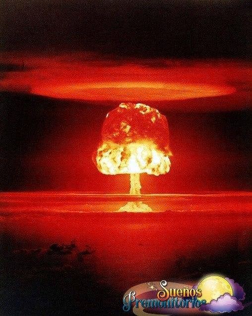 soñar con bomba nuclear