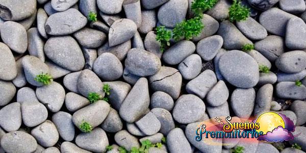 soñar con piedras grandes