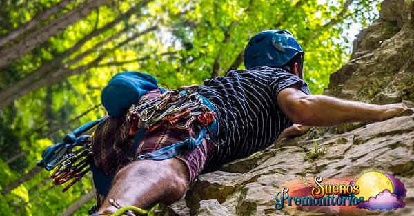 soñar con escalar