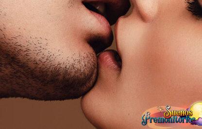 soñar con besos
