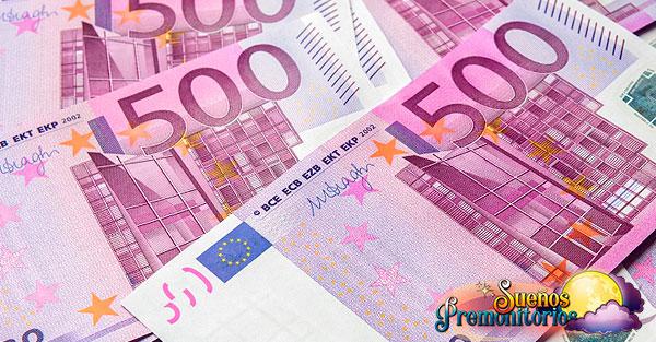 soñar con billetes