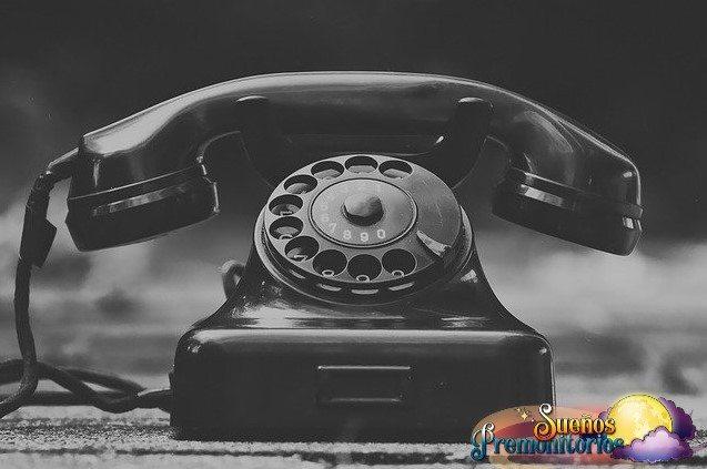 sonar con telefono antiguo