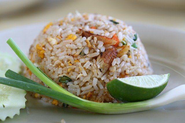 Sonar con arroz frito