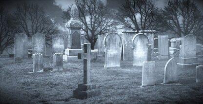 sonar con cementerio