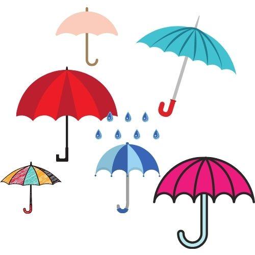 sonar con paraguas