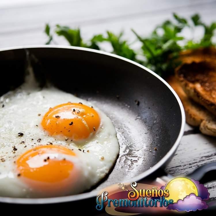huevo frito en un sueno