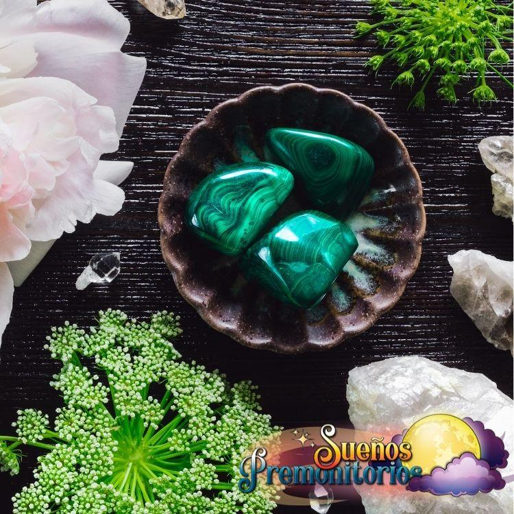 Piedra de malaquita, símbolos de la suerte para el trabajo