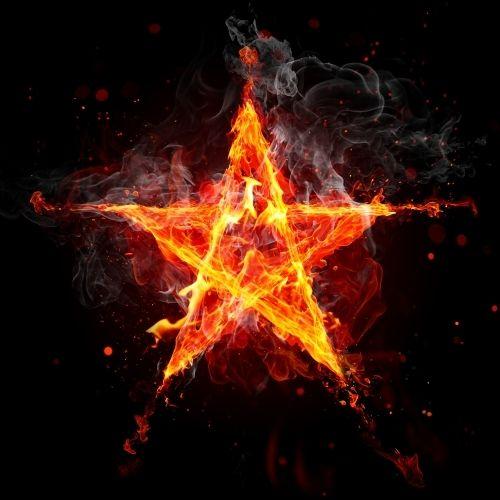 la estrella de fuego