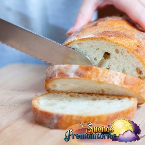 cortando pan